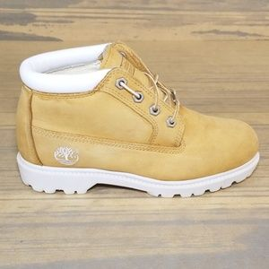 Timberland Nellie Suede Chukka Boots Wheat/White